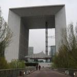 moderný víťazný oblúk Grande Arche