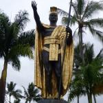 socha kráľa Kamehameha