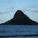 Mokolii Island, známy ako Chinaman's hat