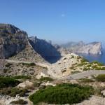 Pohľad z majáku na myse Cap de Formentor