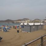 pláž Playa de Las Canteras