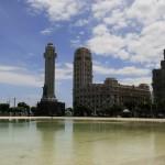 Monumento a los Caídos + budova Palacio