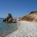 pobrezie pri Aphrodite's Rock