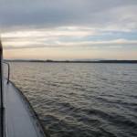 Večerná plavba loďou