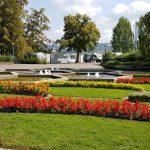 Park pri jazere
