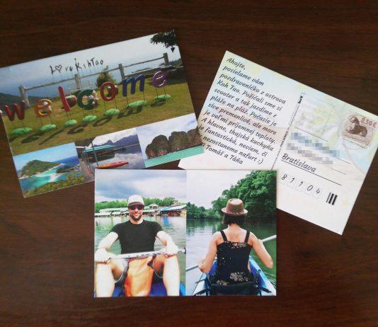 Thajská pohľadnica nám prišla domov za 3 pracovné dní