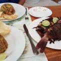 Obed z našich úlovkov