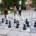 Šachy na námestí