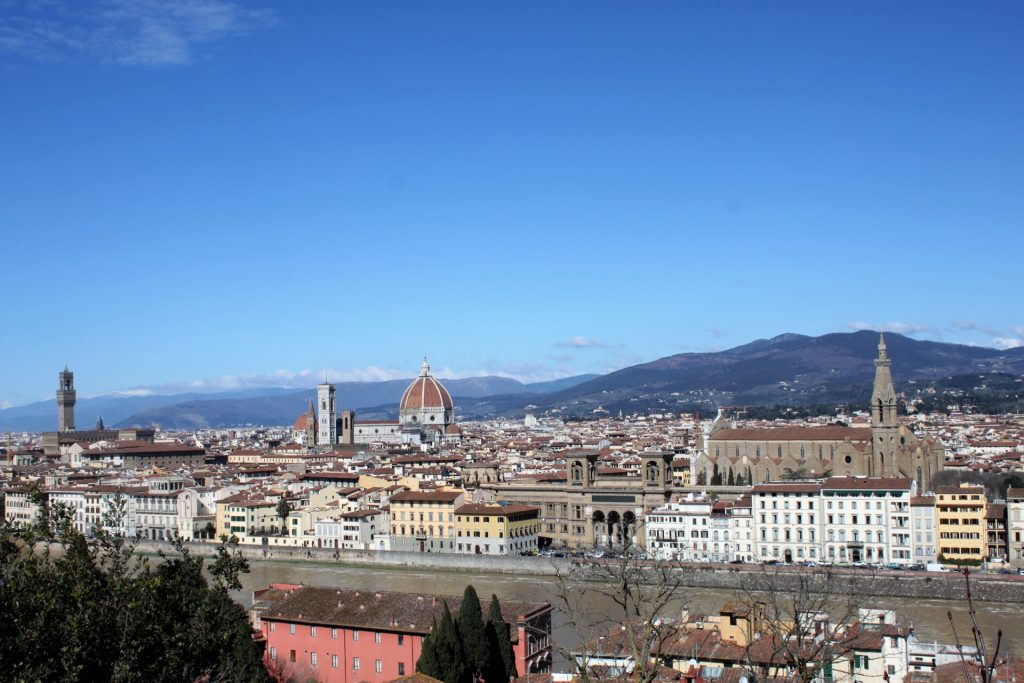 Florencia z Piazzale Michelangelo