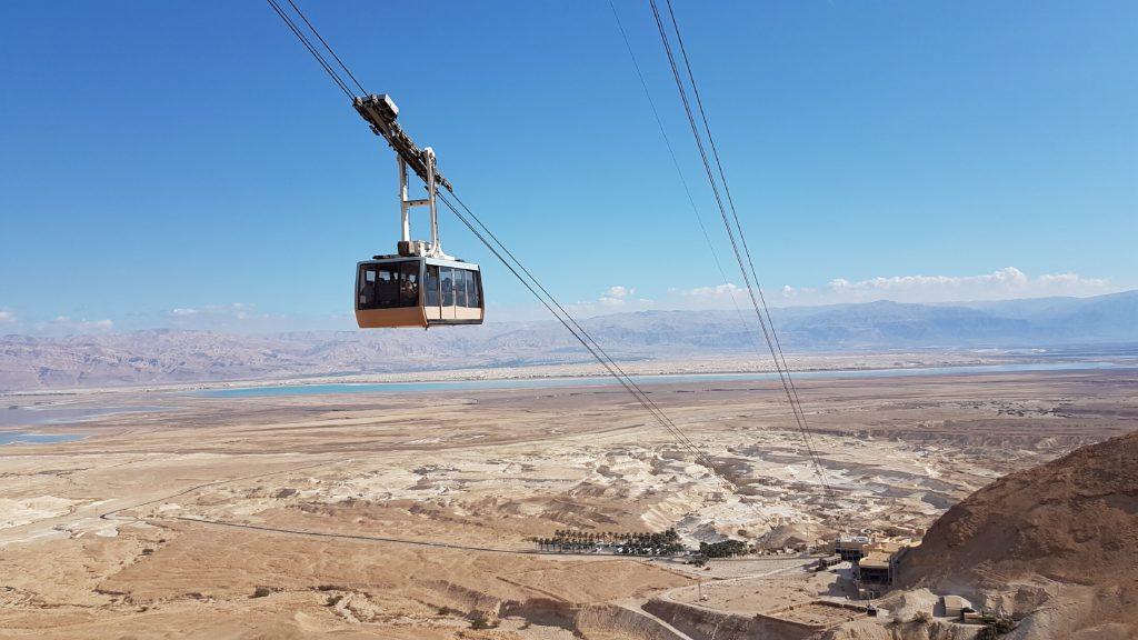 Lanovka na Masadu