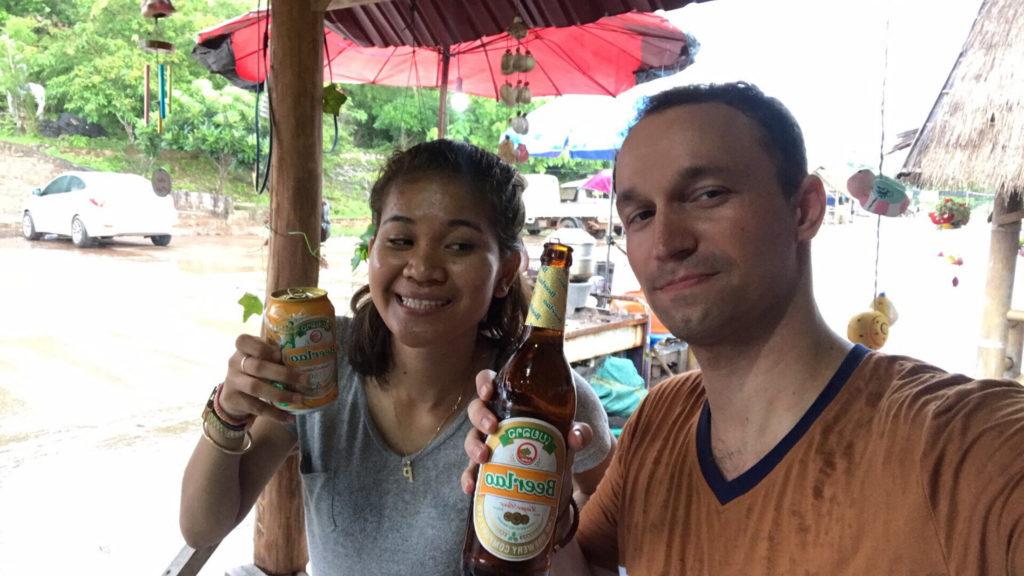 Prve pivo v Laose