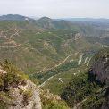Pešia cesta na Montserrat