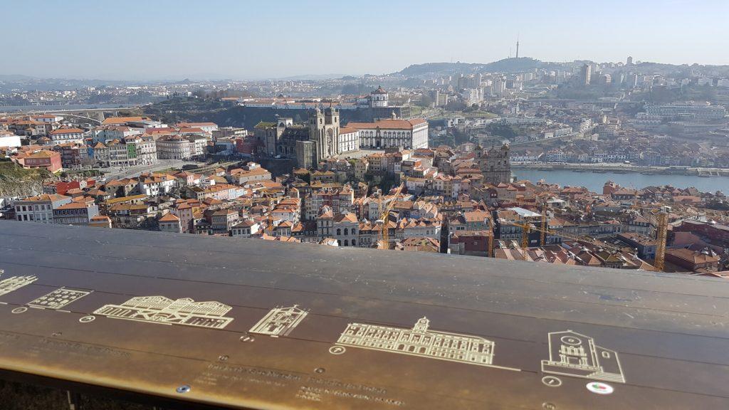 Výhľad z Clerigos Tower