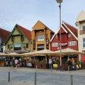 Farebné domčeky v centre