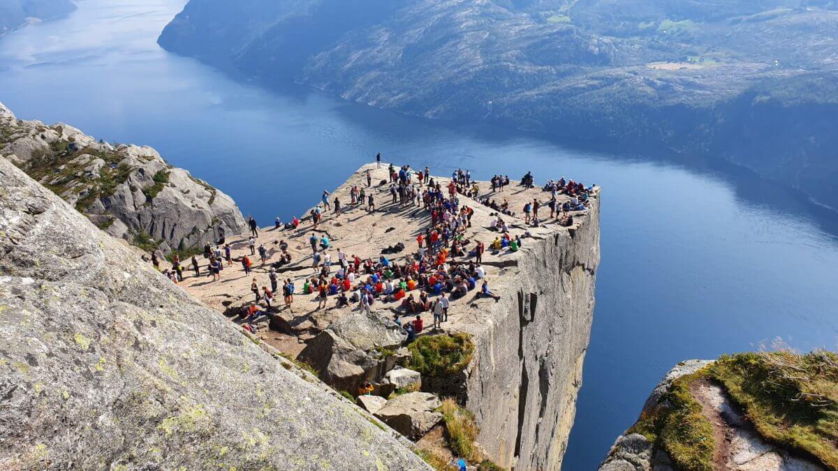 Výhľad na Lysefjord